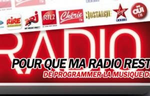 France : Les radios musicales francaises protestent pour être «libres de programmer la musique de leur choix»