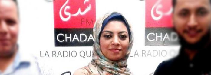 Surprise : Mayssa Salma Ennaji à la radio chez ChadaFM<br />مفاجأة : مايسة سلامة الناجي على راديو شدى ف م