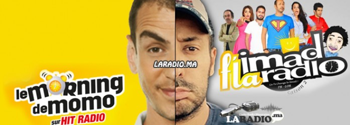 Momo de Hit radio et Imad Kotbi de Chada FM – Video du Clash #Momo_Clash_Imad #‎Sbahlkhir‬