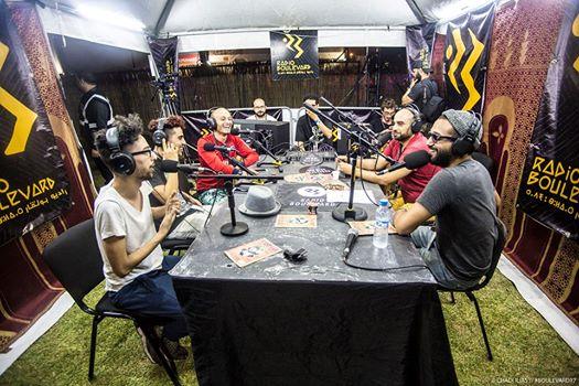 studio radio boulevard festival de musiques urbaines d'Afrique